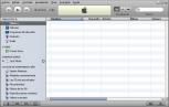iTunes en blanco
