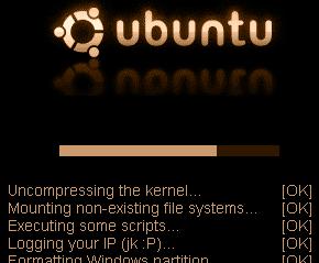 Cargando Wubuntu